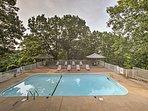 Look forward to splashing around in the community pool.