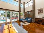 Comfortable open floor plan