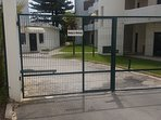Secure gated apartments