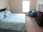 Master Suite 1 with King Bed, TV, Ceiling Fan & En-suite Bathroom