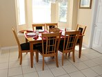 dining room - table for 6