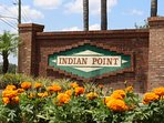 Entrance at Indian Point, Kissimmee, Florida