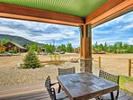 You won't be able to get enough of the front deck, boasting southern sun exposure, a gas grill and patio furniture.