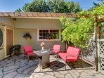Dog-friendly cottage w/ a private hot tub, a huge backyard, walk to the beach!