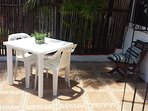 Terrace table and chairs