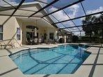 Big beautiful pool and Hot Tub