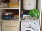 Washing, drying & ironing
