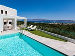 Located on a luscious hill with an extraordinary view on the gulf of Kissamos