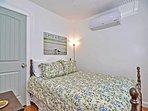 Bedroom 1: Main floor full bedroom with AC.