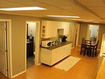 Private fully equipped kitchen area