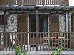 terrasse privée