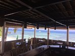 Main Restaurant with nice view at the Beach