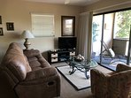 Double recliner to rest, watch your favorite show or  relax in front of the view