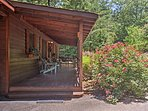 Covered Front Porch | Entrance