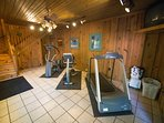Cabins at Green Mountain Fitness Equipment