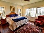 Lower level master king bedroom