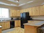Whip up a tasty meal in this fully equipped kitchen. You can pick up all the ingredients you may nee