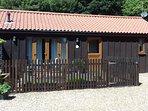 Felgate cottage, enclosed garden