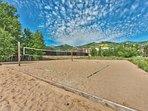 Summer - Sand Volleyball Court