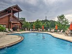 Go for a swim in the community outdoor or indoor swimming pool!