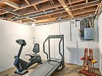 Blow off some steam in the fitness room.