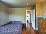 You're ensured a restful night on the queen bed in the third bedroom.
