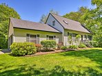 Your Maine haven awaits at this charming vacation rental in Owls Head.