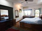 Master bedroom very big area with balcony