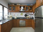 Kitchen with all cooking facilities