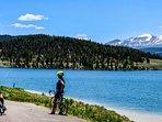 Take A Bike Ride Around Lake Dillon And Admire The View
