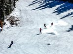 This Is You Swooshing Down The Slopes