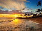 Famous Poipu Sunset