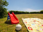 Spend lazy afternoons on our field playing games or having a picnic!