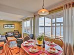 Homemade meals pair perfectly with waterfront vistas!