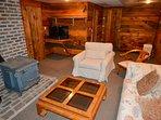 Bonus basement room - great hangout spot for kids