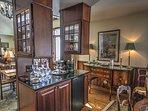 Dark Wood Cabinetry