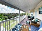 Coastal-View 4BR w/ Backyard BBQ, 2 Balconies & Boat Parking, ADA Accessible