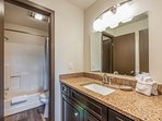 Master Bath with Sink and Separate Tub/Shower Combo