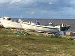 Boats at Sizewell