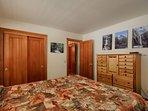 Master Bedroom with Queen bed (main floor)