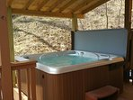 New covered Hot Springs Spa!