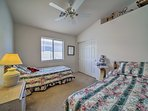 Kids will love sharing these 2 twin beds.