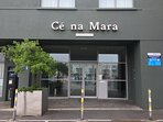 Entrance to Ce na Mara apartments