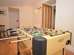Keep everyone entertained with the football table