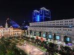 Nguyen Hue walking street is the one of the most must-to-visit places in Saigon.