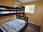 3rd Bedroom (Twin over Full Bunk)
