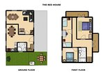 The Red House - floor plan