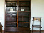 Totale libreria impero e sedia russa art decò