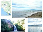 Mappa, Capalbio, cascate e lago di Bolsena distanti pochi km