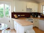 Kitchen linens, crockery, cutlery, utensils and some cleaning products   are provided.